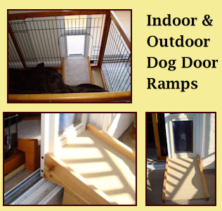 dog ramp for outdoor stairs