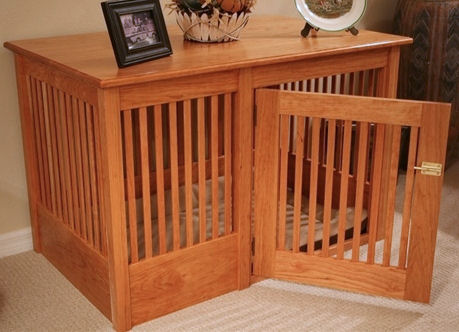 furniture style dog crate. Oak And Maple Dog Crates Furniture Style Crate L